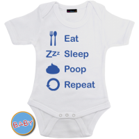 Romper Eat Sleep Poop Repeat